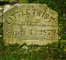 Little Twist Grave Gomez Mill House by PineSinger