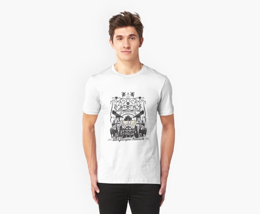 Glasgow T-Shirt design by MFSdesigns