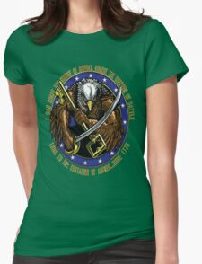 supply eagle Womens Fitted T-Shirt