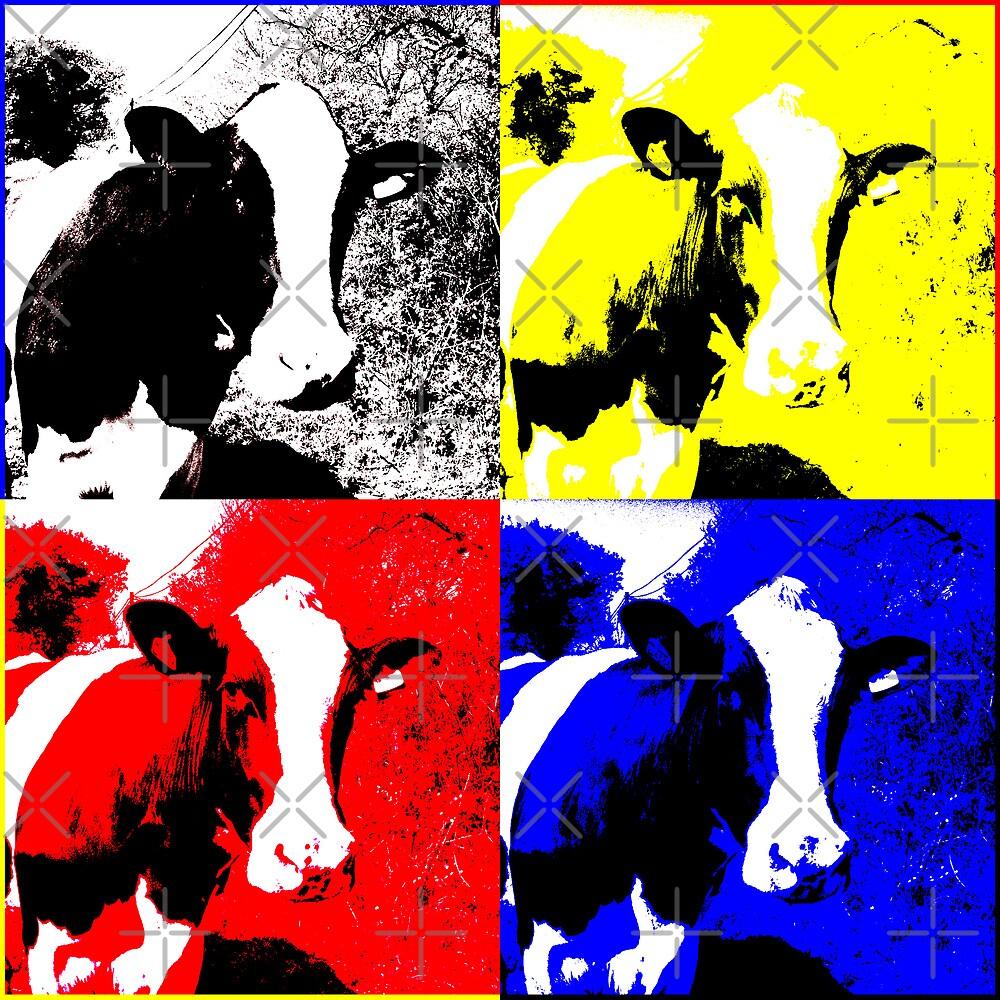 CMYK Cows by artonthehoof