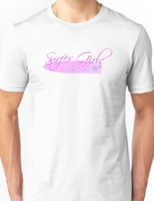 Surfer Girls Hibiscus Unisex T-Shirt