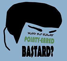 Pointy-eared Bastard by JimSpirk