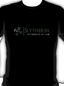 Slytherin Attorneys At Law T-Shirt