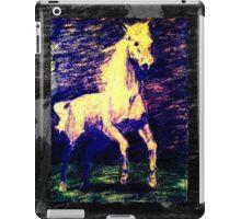 Vivid Leaping Horse iPad Case/Skin