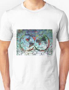 world map antique 3 T-Shirt