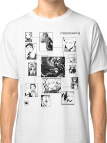 Persona 3 Characters Male Classic T-Shirt