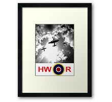 WWII battle of Britain Flight Framed Print