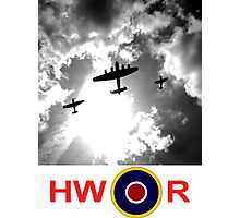 WWII battle of Britain Flight Photographic Print