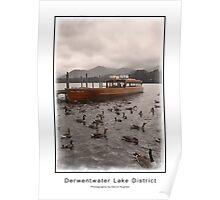 Derwentwater Lake District Poster