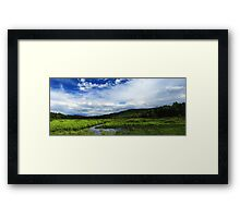 Leading Edge of the Storm  Framed Print
