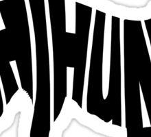 Chihuahua Black Sticker