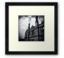 Scraping Past Framed Print