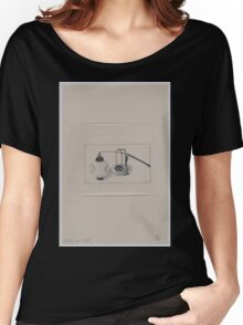 Two views of a paper lantern full and with the paper collapsed 001 Women's Relaxed Fit T-Shirt