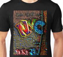 NYC GRAFFITI Unisex T-Shirt