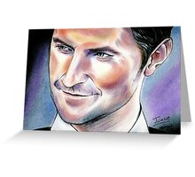 Richard Armitage, true colours Greeting Card