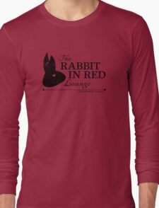 Rabbit in Red Lounge Long Sleeve T-Shirt