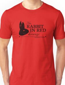 Rabbit in Red Lounge Unisex T-Shirt