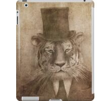 Sir Tiger iPad Case/Skin