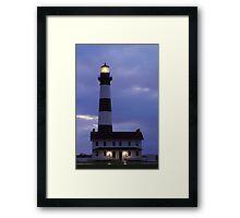 Bodie Island Lighthouse Before Sunrise Framed Print