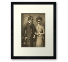 Mr. and Mrs. Frankenstein  Framed Print