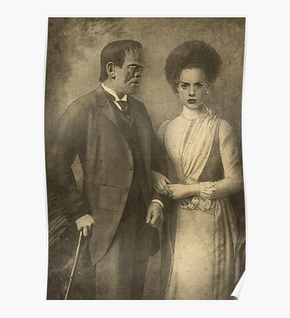 Mr. and Mrs. Frankenstein  Poster