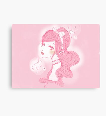 Princess Doll  Canvas Print