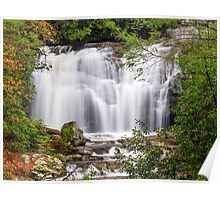 Meigs Falls in the Great Smoky Mountains Poster