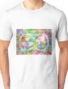 world map antique 4 Unisex T-Shirt