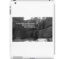 Goals (B&W) iPad Case/Skin