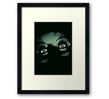 Eyes in the Night Framed Print