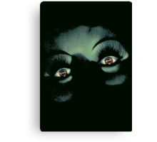 Eyes in the Night Canvas Print