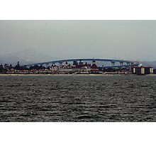 SAN DIEGO BAY CALIFORNIA MARCH 2009 Photographic Print