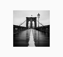 Brooklyn Bridge In Rain Unisex T-Shirt