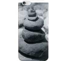 Cairns of rocks  iPhone Case/Skin