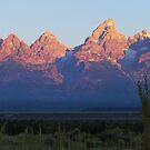 ~ Grand Tetons National Park ~ At Sunrise ~ by Brion Marcum