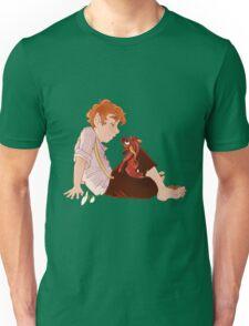 Bilbo and Smaug Unisex T-Shirt