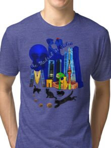 From Madrid to heaven Tri-blend T-Shirt