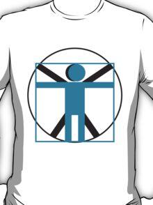 vitruvian man simplified    T-Shirt