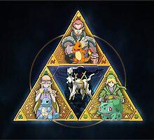 Pokemon/ Zelda Design  by IshimaruBaisote