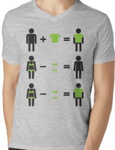 wisdom of life Mens V-Neck T-Shirt