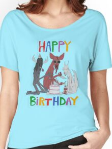 HAPPY BIRTHDAY Women's Relaxed Fit T-Shirt