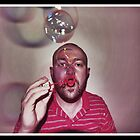 Bubbles: Self Portrait by JLaverty