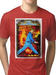 Jerry Lee Lewis. Sun Records. Memphis. TN. Million Dollar Quartet. Music. Tri-blend T-Shirt