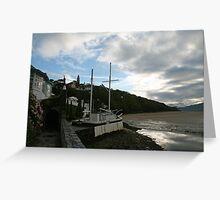 The Village aka Portmeirion Wales UK Greeting Card