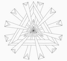 Sacred Geometry - Paint Your Own T-Shirt/Hoodie Kids Tee
