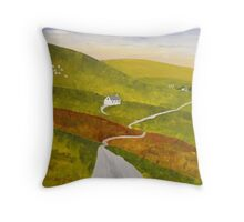 """""""Road to Gairloch"""" Throw Pillow"""
