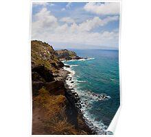 Maui-Hawaii-Coastline Poster