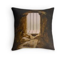 """A Castle View of Scotland: Stirling No. 1"" Throw Pillow"