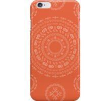 Monogram Pattern (E) in Koi iPhone Case/Skin