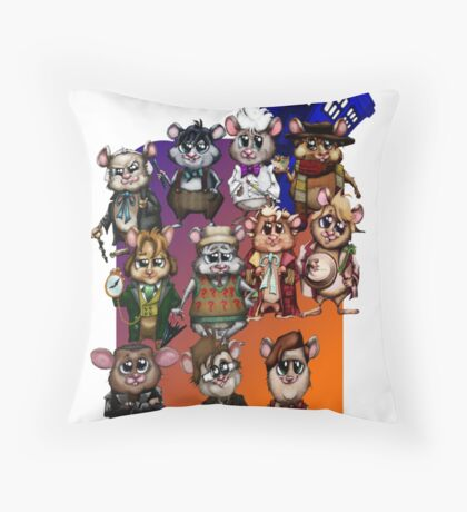WHO'S YOUR HAMMY? Throw Pillow